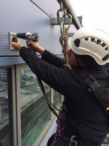 High Level Exterior Building Maintenance