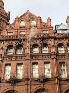Steam cleaning, Midland Hotel