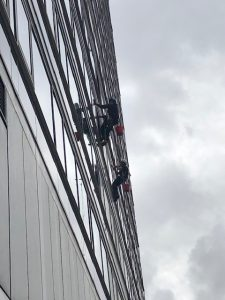 Abseiling at City Suites Manchester