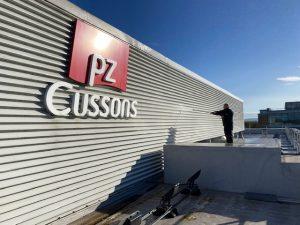 Jet Washing at PZ Cussons